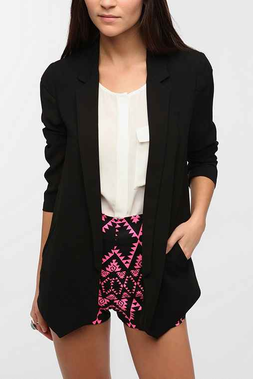 Silence + Noise Sheer Back Blazer