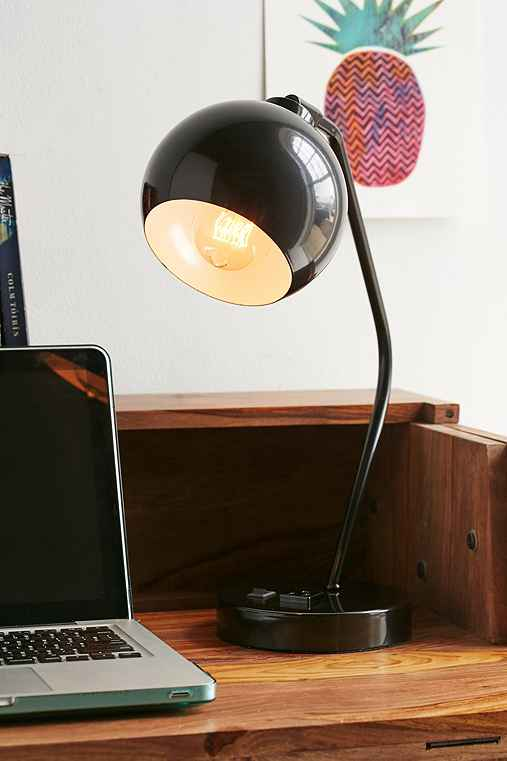 Gumball Desk Lamp,BLACK,ONE SIZE
