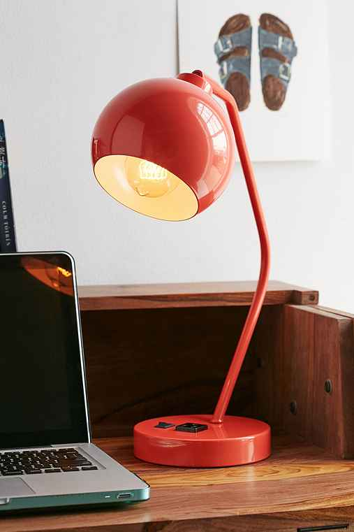 Gumball Desk Lamp,ROSE,ONE SIZE