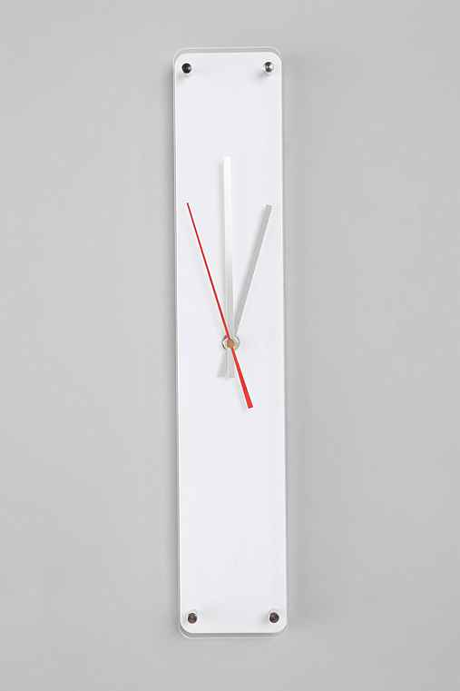 Strip Wall Clock - Urban Outfitters