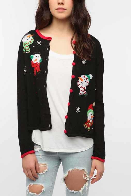 Urban Renewal Vintage Ugly Holiday Cardigan