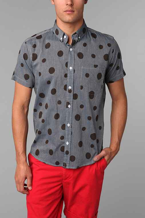 Oxford Lads Multi Polka Dot Shirt
