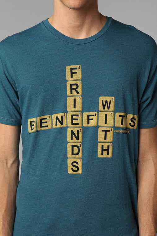 Junk Food Friends With Benefits Tee