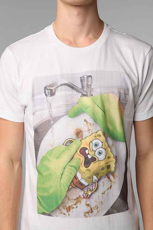 SpongeBob Getting Used Tee