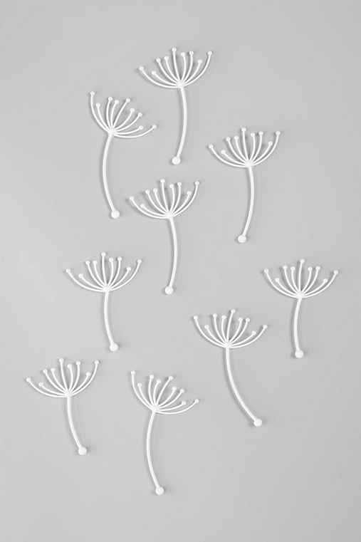 Umbra Pluff Wall Decor Set Of 9 : Pluff wall decor set of urban outfitters