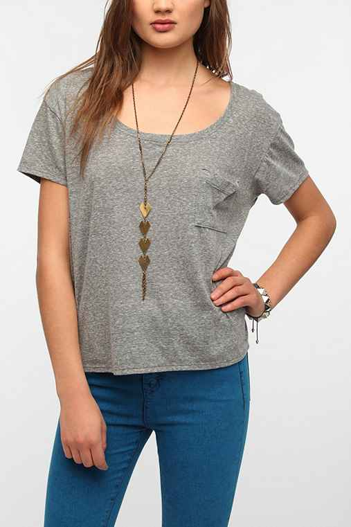 Truly Madly Deeply Boxy Pocket Tee