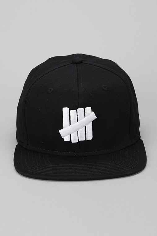 Undefeated 5 Strikes Snapback Hat