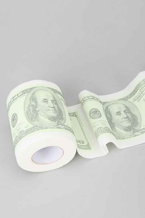 Printed Toilet Paper Roll