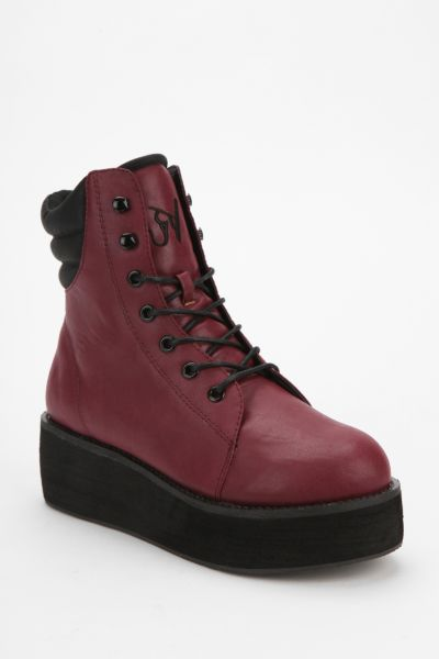 Y.R.U. Raze Lace-Up Flatform-Boot