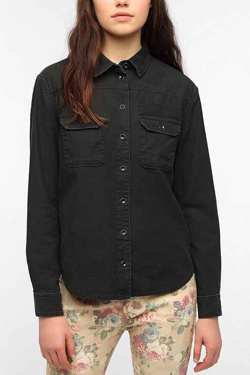 BDG Button-Down Surplus Shirt