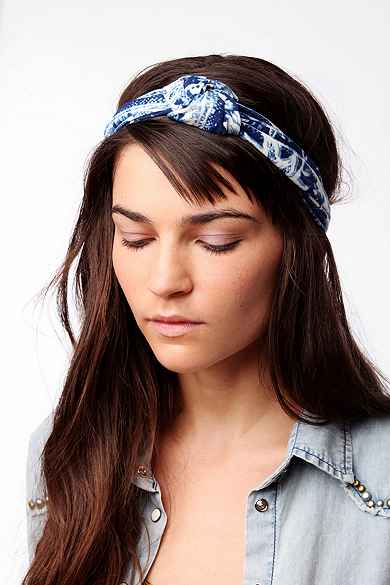 Knotty Printed Headwrap