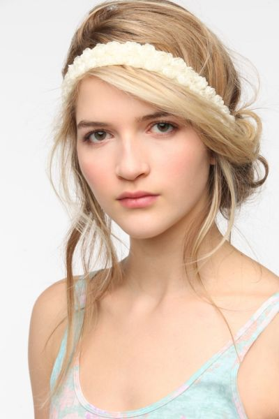 Rows Of Rosettes Headwrap
