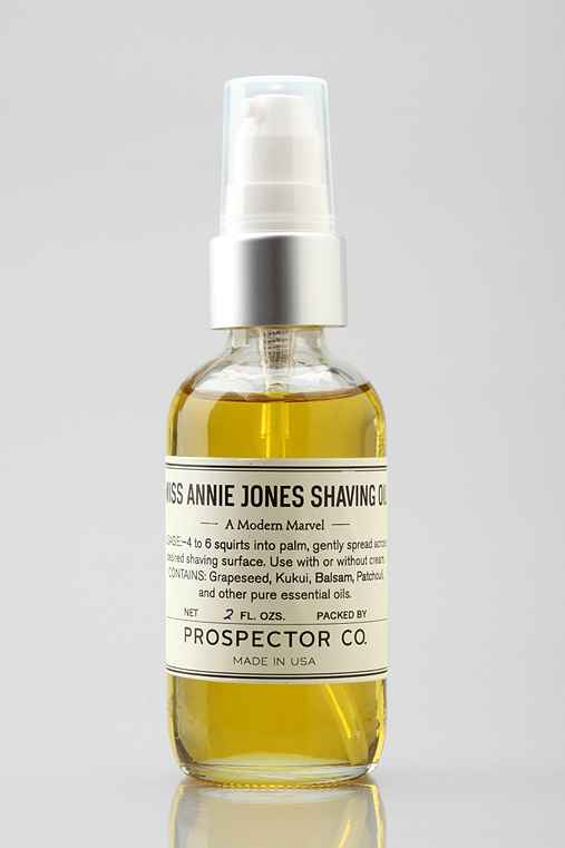 Prospector Co. Miss Annie Jones Shaving Oil