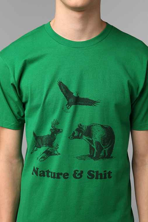 Nature And Sh!t Tee