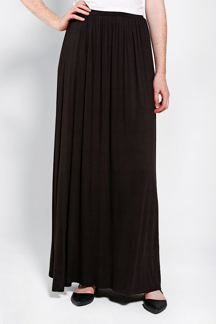 sparkle fade knit maxi skirt outfitters