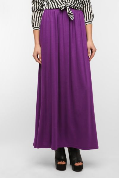 Sparkle & Fade Knit Maxi Skirt