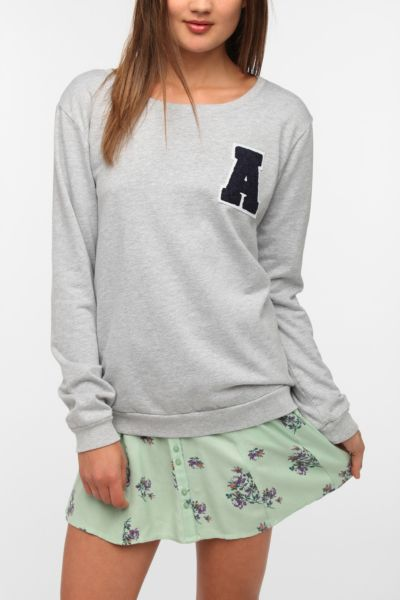 Truly Madly Deeply Letterman Sweatshirt