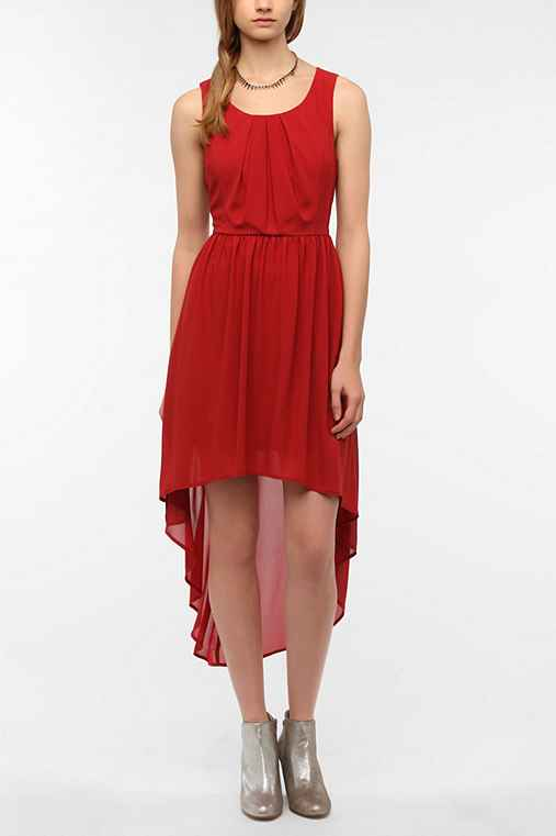 Doe & Rae Chiffon High/Low Dress