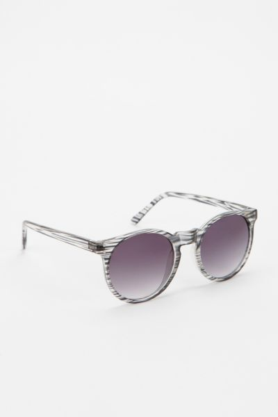 Blurred Lines Round Sunglasses