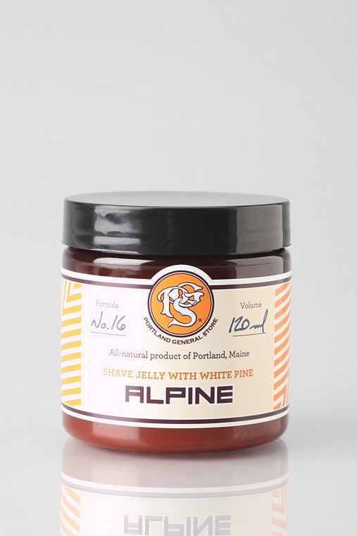Portland General Store Alpine Shave Jelly