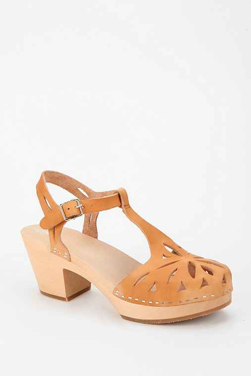 Swedish Hasbeens Lacy T-Strap Sandal