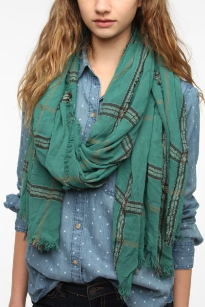 remi & reid Color Me Plaid Scarf