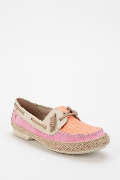 Sam Edelman Sebastian Canvas Boat Shoe