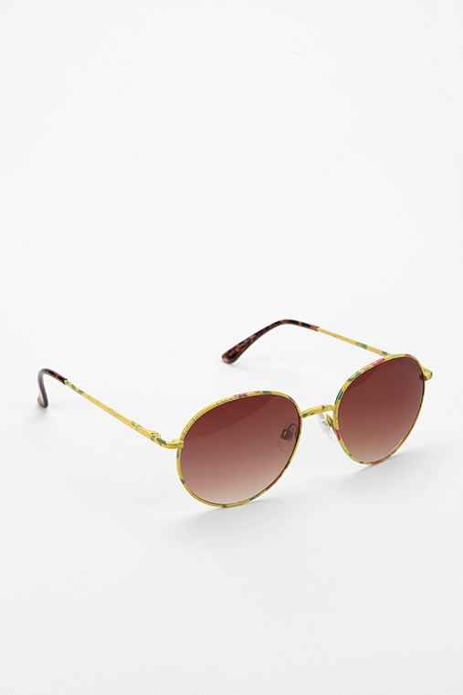Flower Child Round Sunglasses