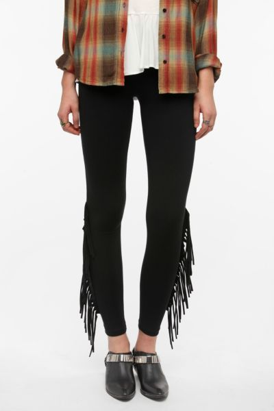 Staring at Stars Fringe Legging