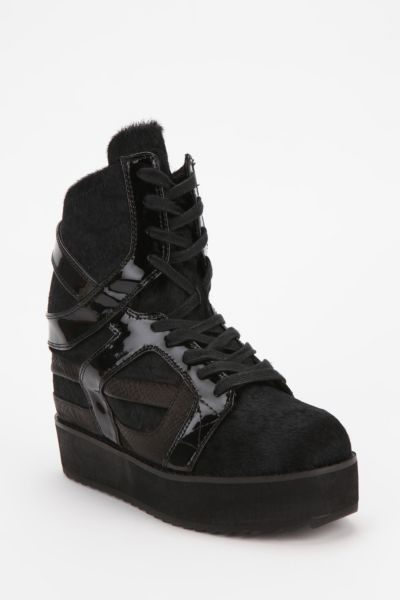 Jeffrey Campbell Rodman Hidden Wedge Flatform-Sneaker