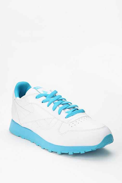 Reebok Two-Tone Slim Leather Running Sneaker