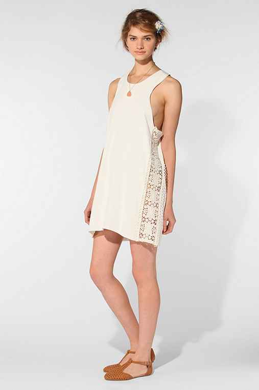 Stone Cold Fox Secret Crepe Dress