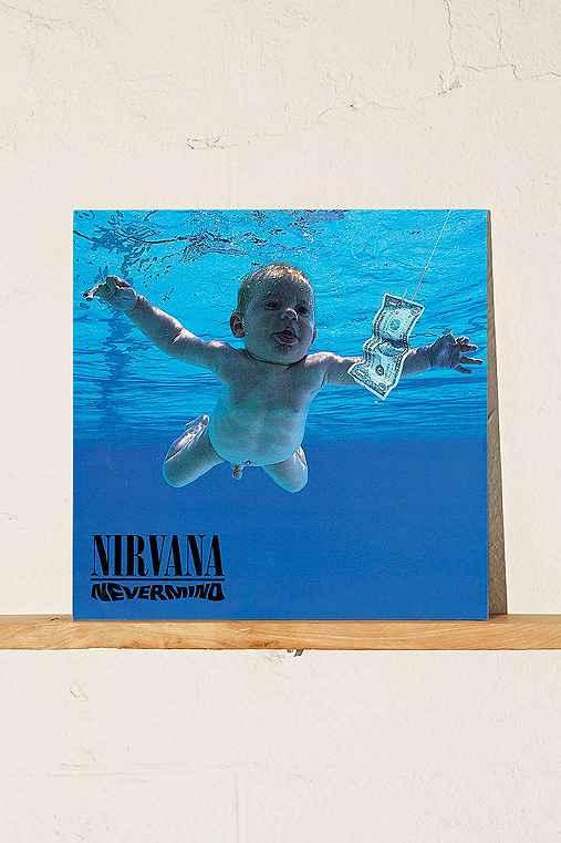 Nirvana - Nevermind LP,BLACK,ONE SIZE
