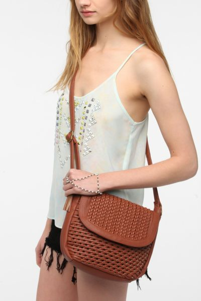 Ecote Woven Shoulder Bag