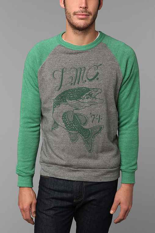 Dark Seas Pike Crew Neck Sweatshirt