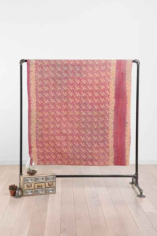 One-Of-A-Kind Sikkim Kantha Quilt