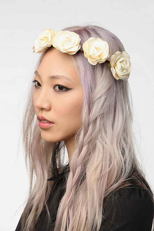 Cult Gaia Lana Flower Crown Headwrap