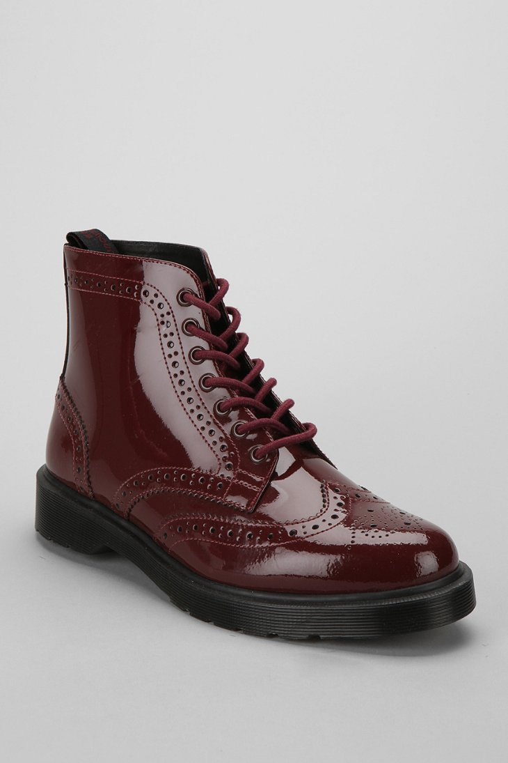 Dr Martens Affleck Brogue Patent Leather Boot Urban