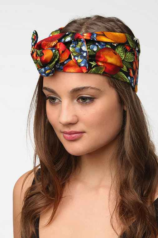 Cult Gaia Fall Fruit Headwrap