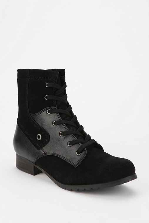 BC Footwear Cub Suede Lace-Up Ankle Boot