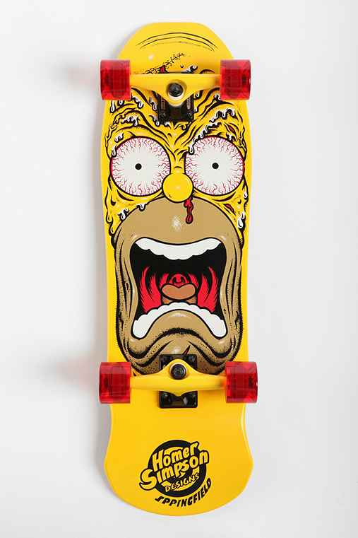 Santa Cruz X The Simpsons Homer Face Skateboard