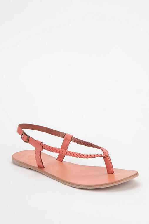 Ecote Braided Thong Sandal