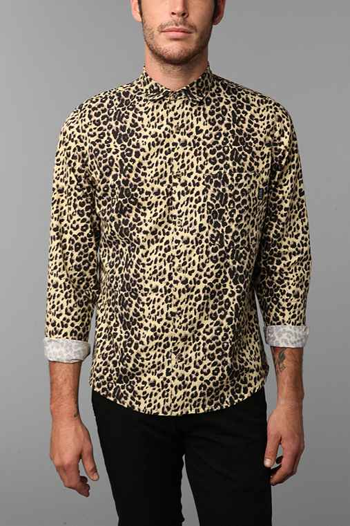 Civil Cheetah Print Shirt