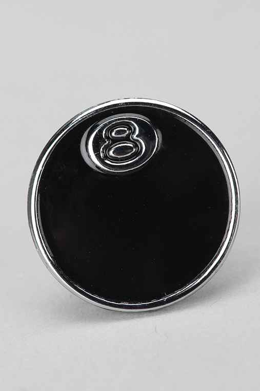 Stussy 8 Ball Pin