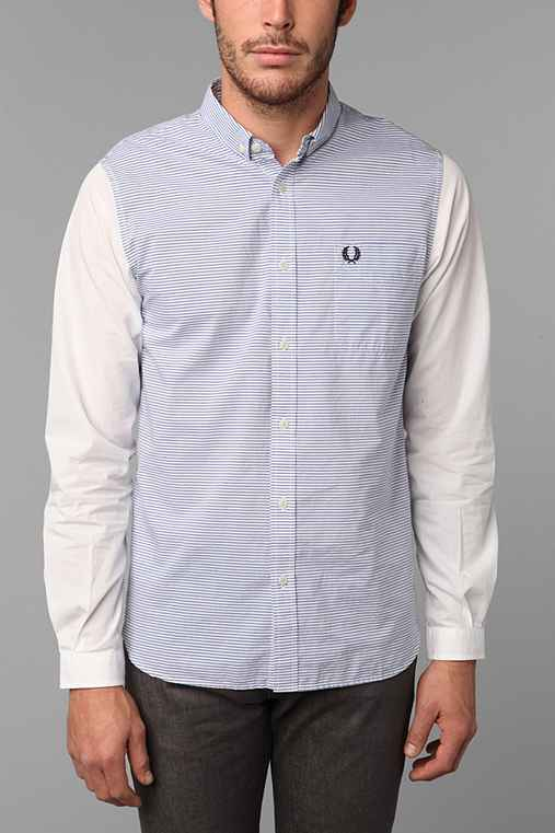 Fred Perry Stripe Long-Sleeve Shirt
