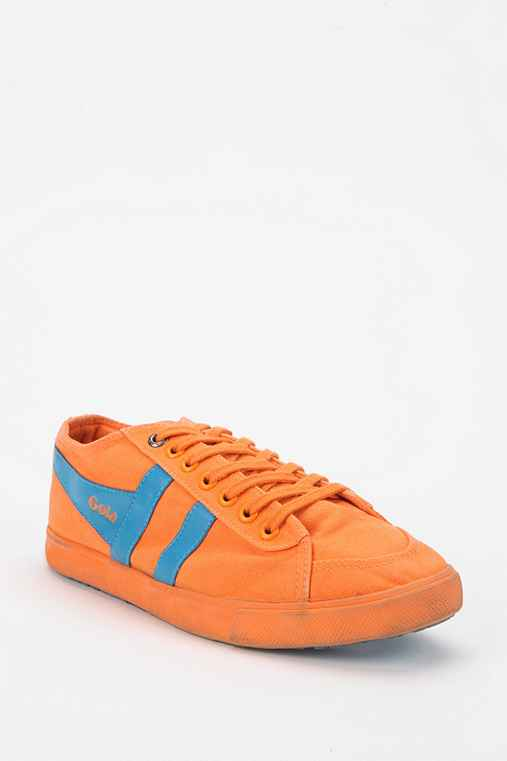 Gola Quota Neon Lace-Up Sneaker