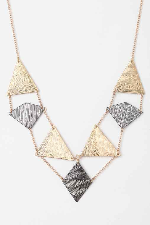 Sunrise Geo Necklace