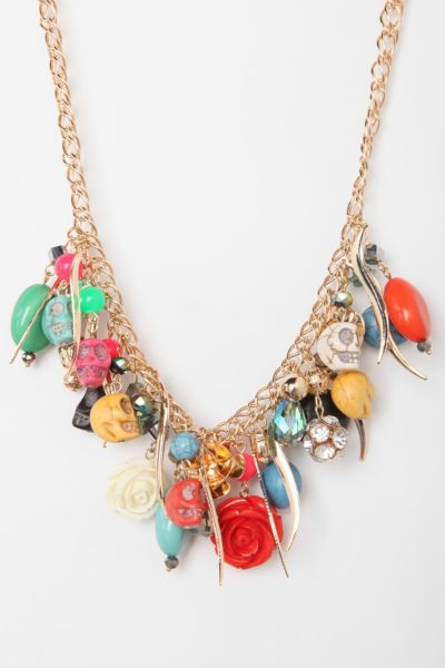 Treasure Island Charm Necklace