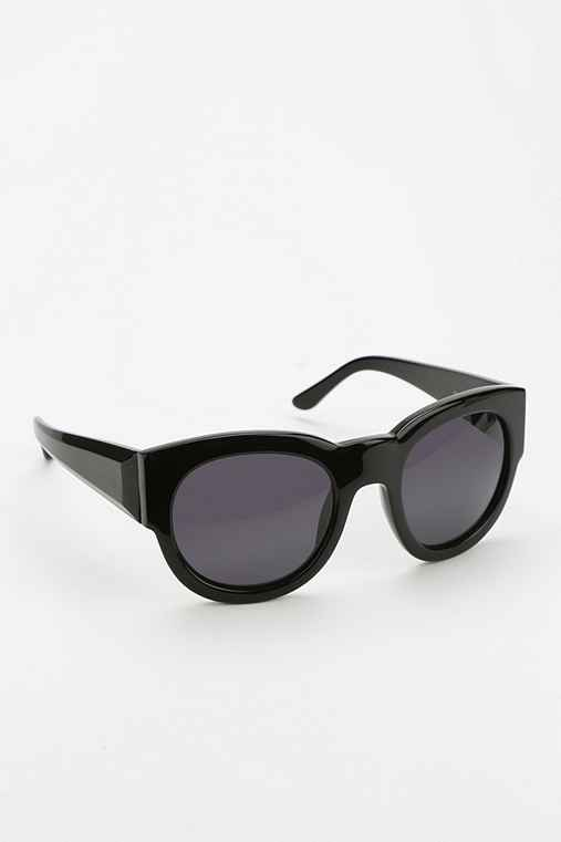 Something Else By Natalie Wood Chunky Sunglasses