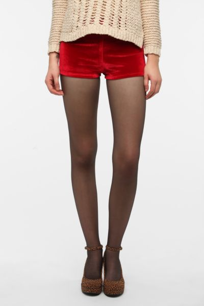 Urban Renewal Velvet Cheeky Short